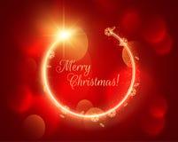抽象空白背景圣诞节黑暗的装饰设计模式红色的星形 eps10开花橙色模式缝制的rac ric缝的镶边修整向量墙纸黄色 免版税库存照片
