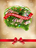 抽象空白背景圣诞节黑暗的装饰设计模式红色的星形 10 eps 免版税库存照片