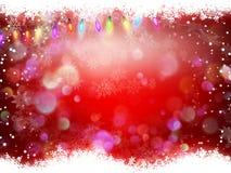 抽象空白背景圣诞节黑暗的装饰设计模式红色的星形 10 eps 库存图片