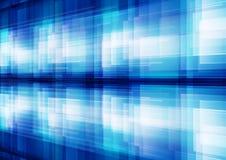 抽象空白背景蓝色几何的模式 免版税库存图片