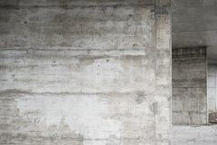 抽象空的背景 空白的混凝土墙纹理照片  灰色被洗涤的水泥表面 水平的图象 库存图片