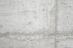 抽象空的背景 空白的自然混凝土墙纹理照片  灰色被洗涤的水泥表面 水平 库存照片