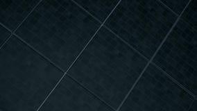 抽象立方体移动 动画求不规则运动的立方 股票视频