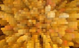 抽象立方体3d挤压背景,数字 库存例证
