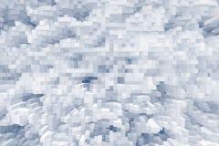 抽象立方体3d挤压背景,现代 向量例证