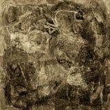 抽象符号 皇族释放例证