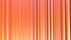 抽象简单的桃红色橙色低多3D帷幕 转移纯净的桃红色桔子软的几何低多行动背景  向量例证