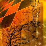 抽象算术科学 免版税图库摄影