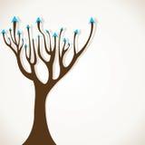 抽象箭头结构树股票   免版税库存图片