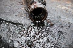 抽象粗暴例证油向量 免版税库存图片