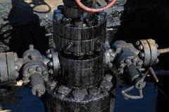 抽象粗暴例证油向量 免版税图库摄影