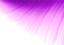 抽象紫色向量翼 库存图片