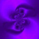 抽象紫色树荫 库存例证