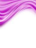 抽象紫色通知 免版税库存图片