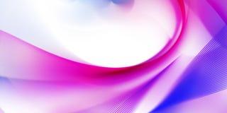 抽象紫色通知 皇族释放例证
