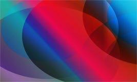 抽象红灯作用背景传染媒介 图库摄影