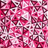 抽象红色三角背景 皇族释放例证