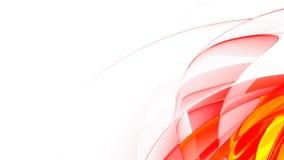 抽象红色使光滑 皇族释放例证