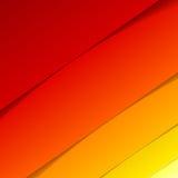 抽象红色和橙色长方形形状 库存照片