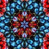 抽象红色和蓝色样式背景纹理 免版税图库摄影