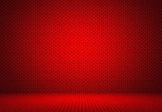 抽象红色圆点背景圣诞节华伦泰布局d 库存照片