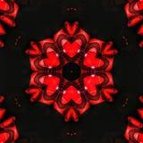 抽象红色样式纹理背景1 免版税库存图片
