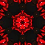 抽象红色样式纹理背景2 免版税库存图片
