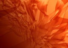 抽象红色海草 库存照片