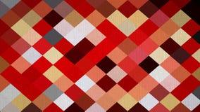 抽象红色白色块箱子墙纸 免版税库存照片