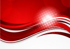 抽象红色背景 库存例证