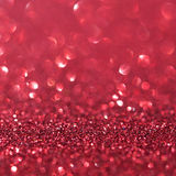 抽象红色闪烁假日背景 免版税库存图片
