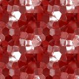 抽象红色玻璃纹理 免版税库存照片
