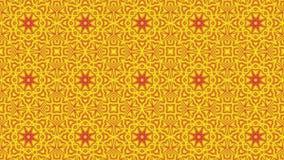 抽象红黄色背景 向量例证
