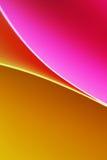 抽象纸叠defocused五颜六色的背景 免版税库存照片