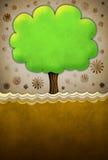 抽象纹理结构树葡萄酒 库存照片