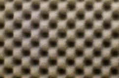 抽象纹理背景或背景的棕色波浪海绵用途 库存照片