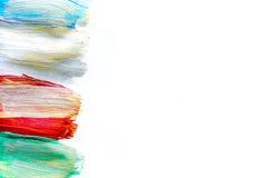 抽象纹理背景的多彩多姿的油漆设计 免版税图库摄影