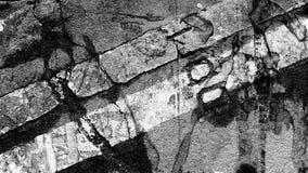 抽象纹理荧光黑白 库存照片