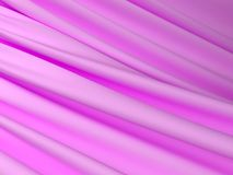 抽象纹理,桃红色丝绸 库存照片