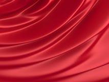 抽象纹理 红色丝绸 图库摄影