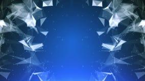 抽象线、三角和小点的结节 : 皇族释放例证
