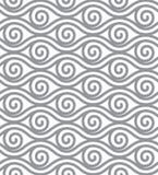 抽象线传染媒介说明 元素无缝的墙纸 向量例证