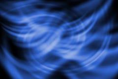 抽象线有转动蓝色背景 库存照片