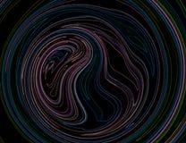 抽象线漩涡 库存图片
