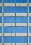 抽象结构上反映天空 库存照片