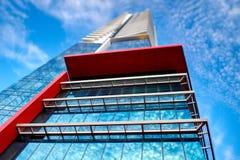 抽象结构上大厦外部现代 库存图片