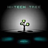 抽象结构树概念 库存照片