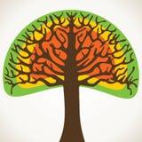 抽象结构树股票   免版税图库摄影