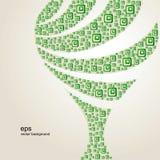 抽象结构树 库存图片
