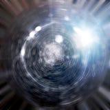 抽象结构碗光 图库摄影